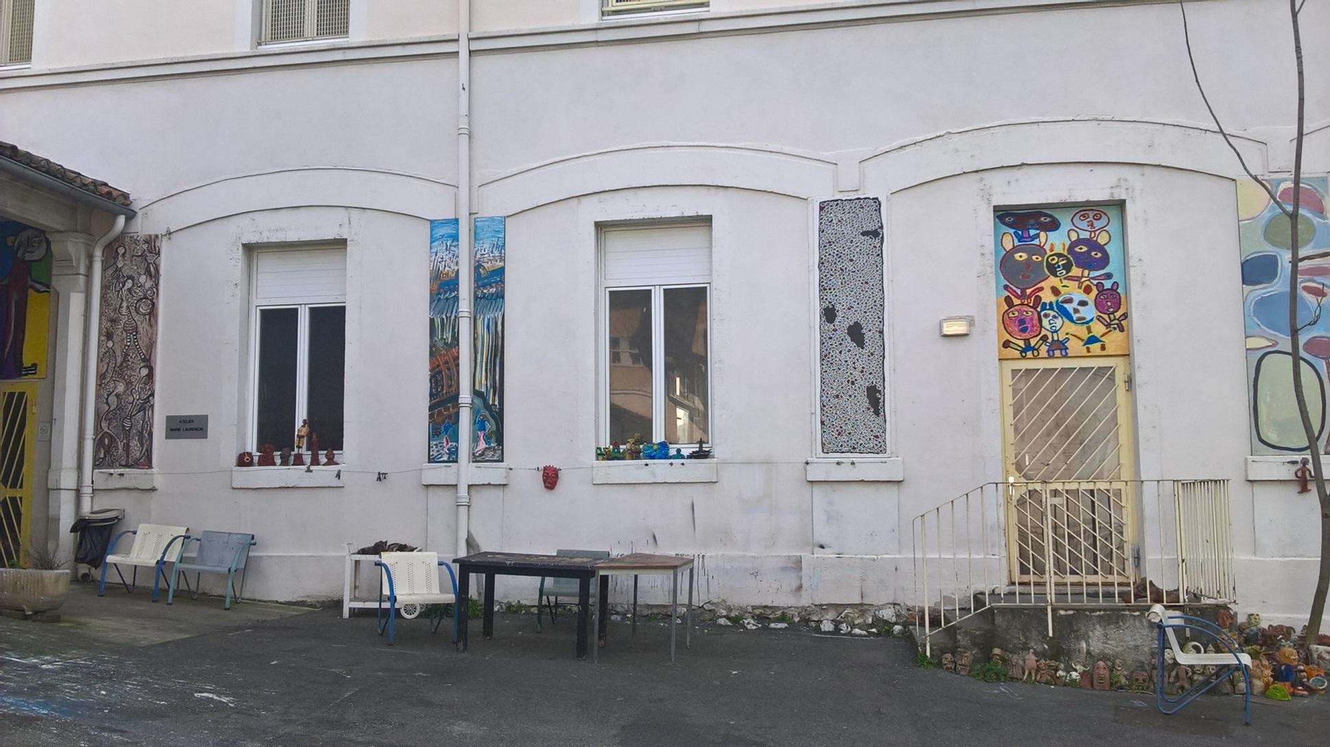 Atelier Marie Laurencin de peinture et de sculpture - Hôpital de Montfavet